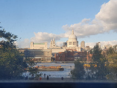 St Paul's from the Tate Modern by Viviane Boulay