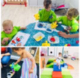 Activités enfants crèche