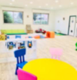 Salle d'activités de la creche