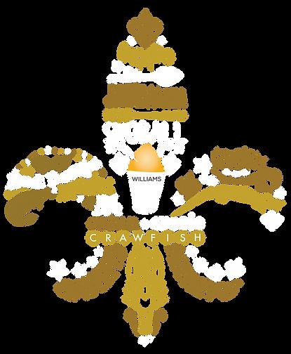 Williams Who Dat Snoballs & Food logo on