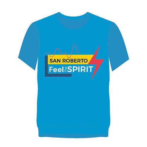 Feel the Spirit T-Shirt (Blue)