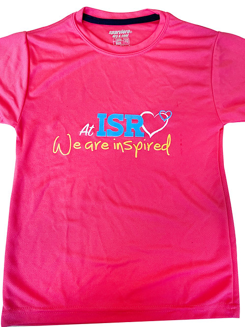 We are inspired Pink T-shirt
