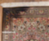 ペルシャ絨毯修理
