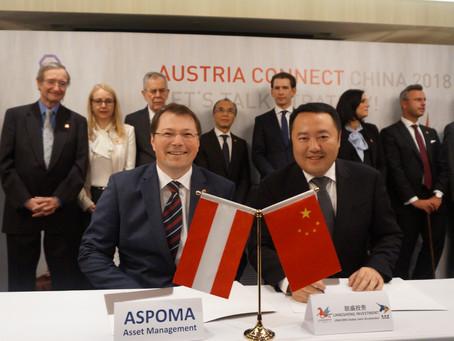 ASPOMA baut Präsenz in China weiter aus