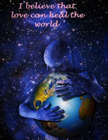 Love can heal the world