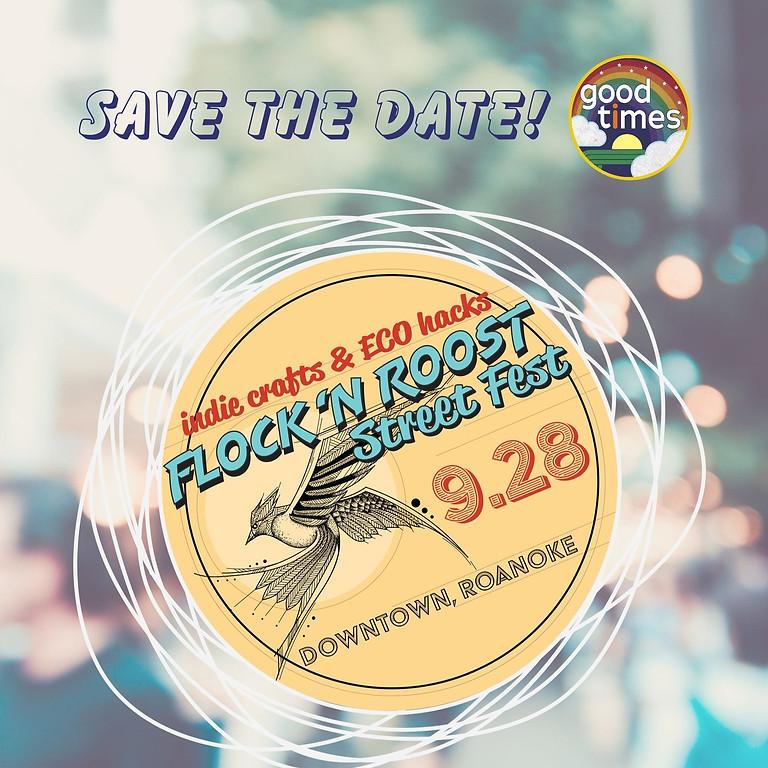 Flock & Roost Street Fest: Indie Crafts and Eco Hacks