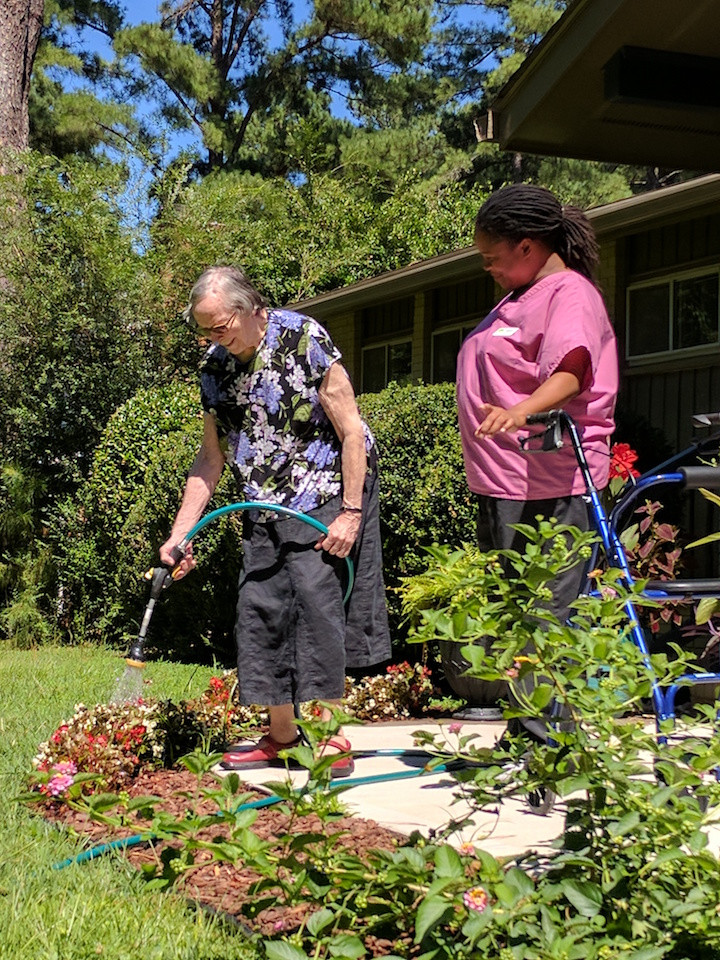 Gardening at August Estates