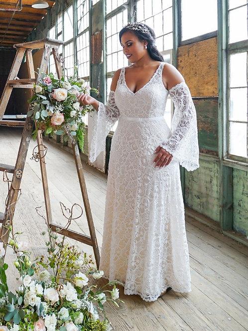 Florina Set- Gown & Sleeves