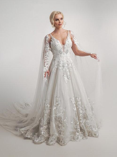 Unicia Set- Gown & Cape