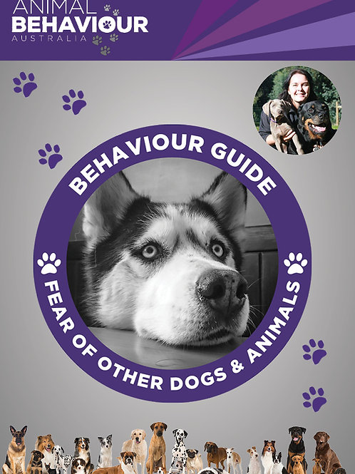 Behaviour Guide - Fear of Other Dogs & Other Animals