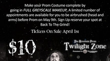 Greyscale Makeup Session for Prom!