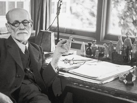 Na kratko: Sigmund Freud.