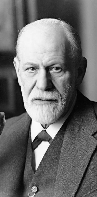 """Sigmund Freud je začetnik psihoanalize. Glede na to, da so se kasneje iz metode psihoanalize razvile različne """"verzije"""" psihoterapije, lahko rečemo celo, da je začetnik metode psihoterapije."""