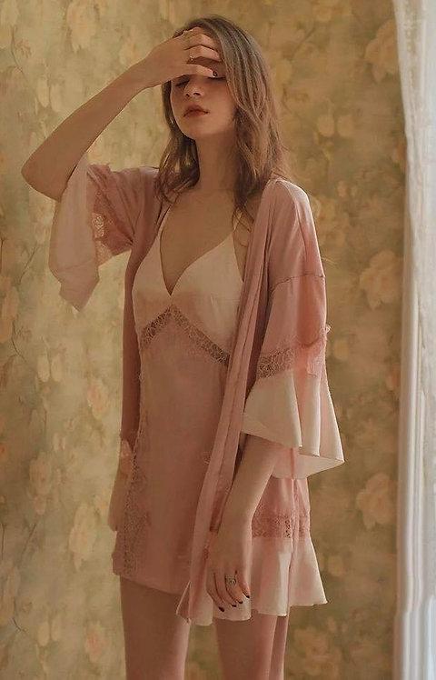New Design Luxury Set Night Gown