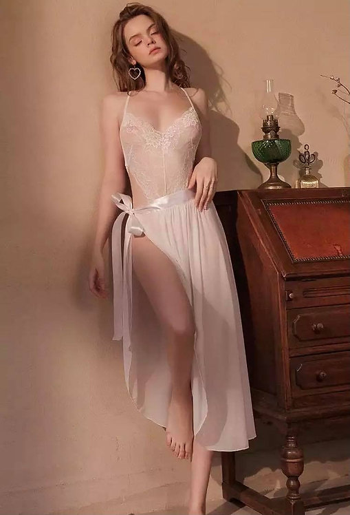 Set erotic Nightgowns Mesh Hot Jumpsuit