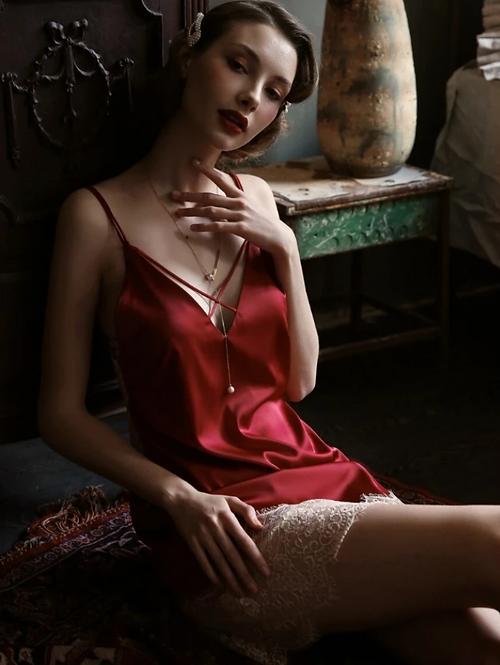 Silk Hot Sexy Nightdress