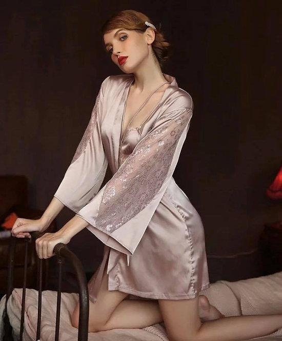 Sexy Women Satin Sleepwear New Comfort