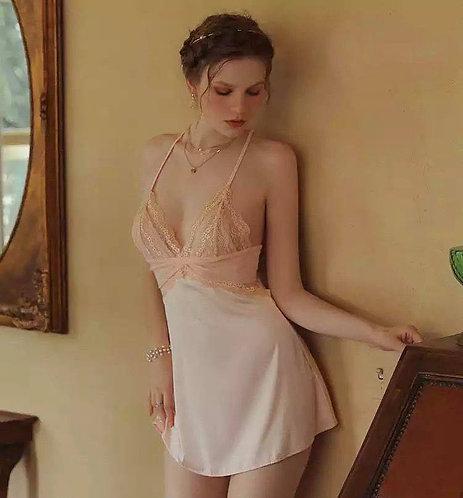 Sexy Lingerie Women Nightgown Nightdress
