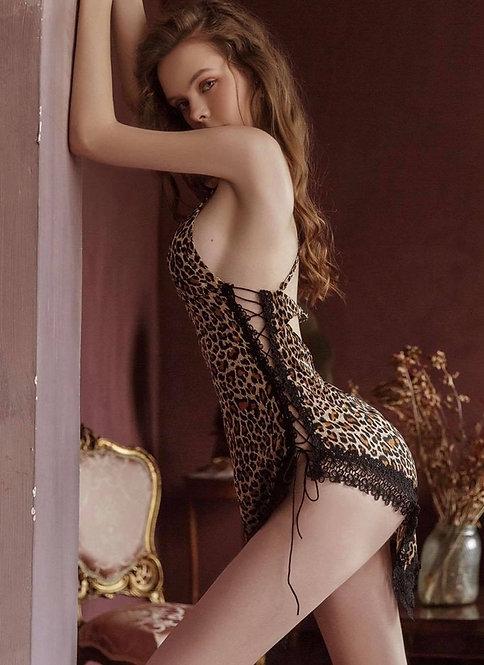 Pajamas Sexy Leopard Print Hot