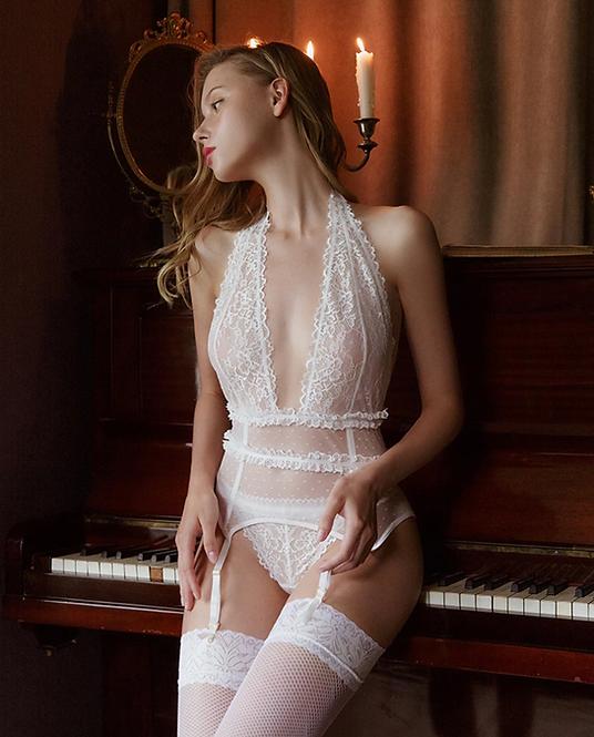 Sexy Lingerie lace set