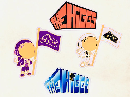 The Higgs sticker pack - 4 for $5