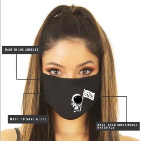 Spaceman Facemask