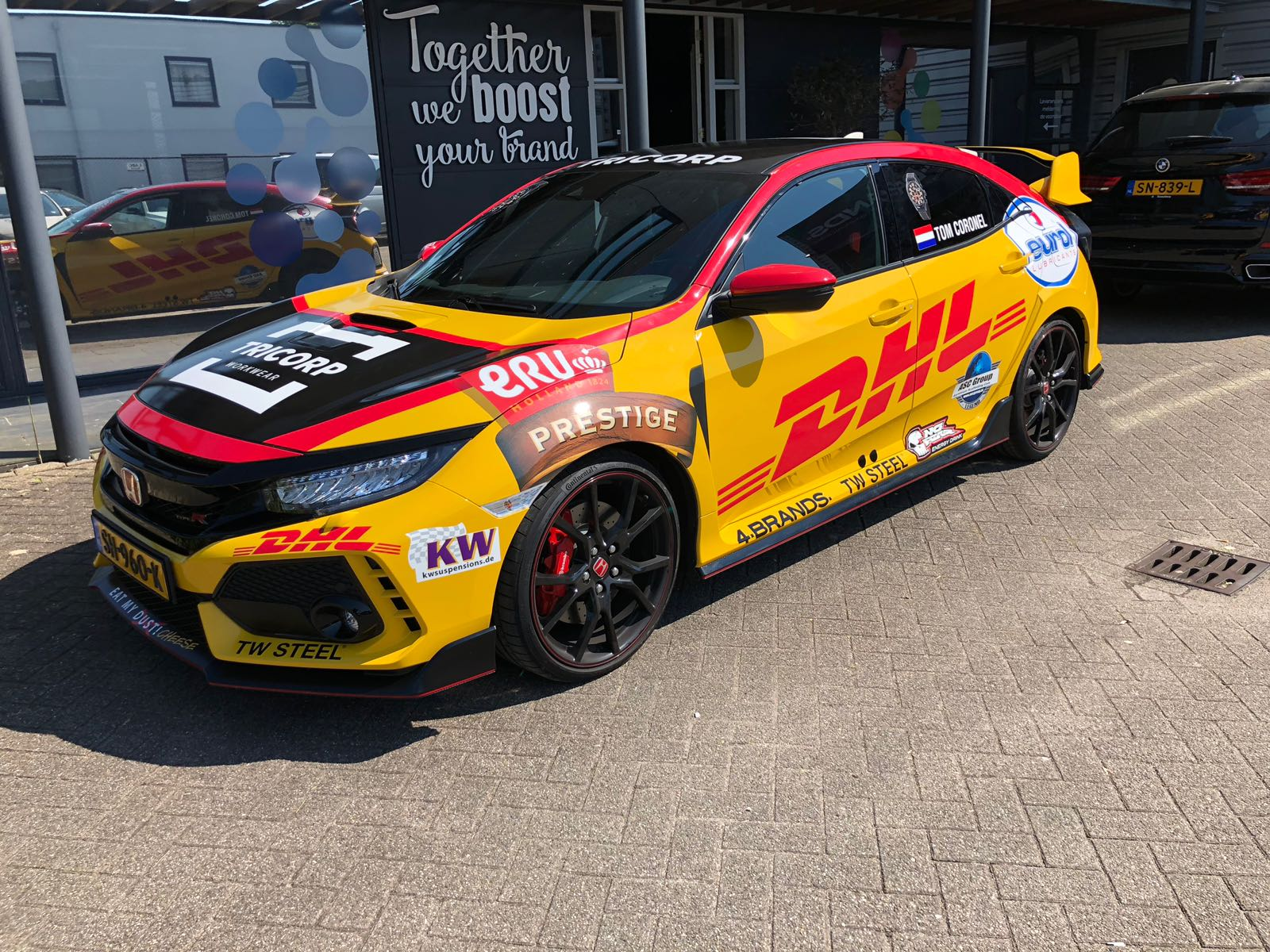Tom Coronel WTCR replica Honda