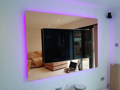 Copper Mounted Mirror