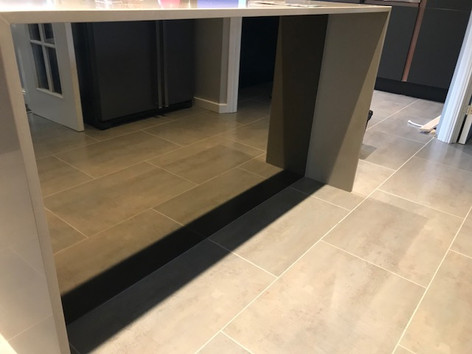 Bronze Mirror under counter