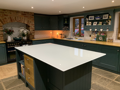 15mm White Worktop