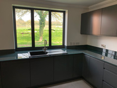 Green Worktops and Upstands