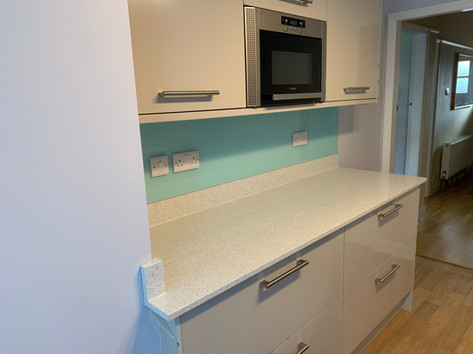Mint Splashback