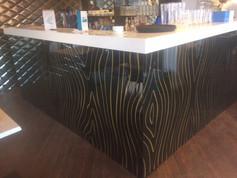 Wood Effect Printed Splashback