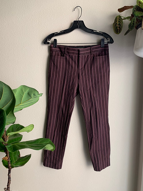 JCrew Stripped Trousers