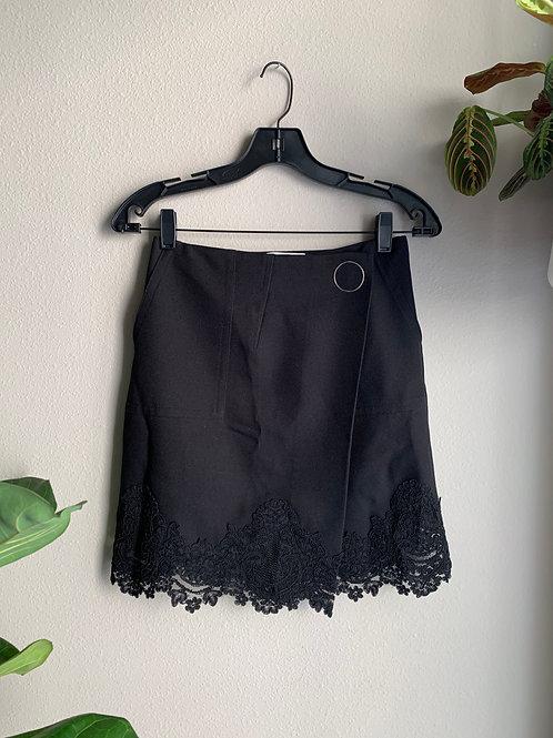 Sandro Wrap Skirt