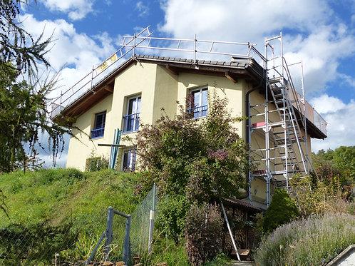 Installation solaire photovoltaïque villa familiale