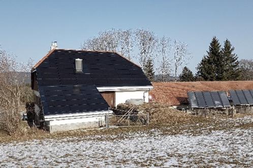 Installation Solaire Photovoltaïque integrée