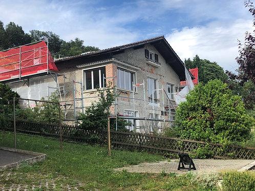 Rénnovation d'une villa chemin de Bosseyer