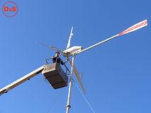 Установка ветрогенератора в Волгограде.j