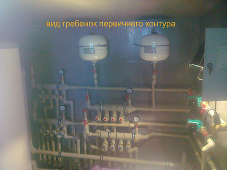 монтаж тепловых насосов вода-вода danhea