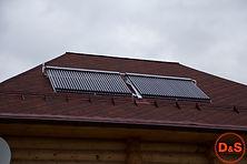 Солнечные коллектора для горячей воды св
