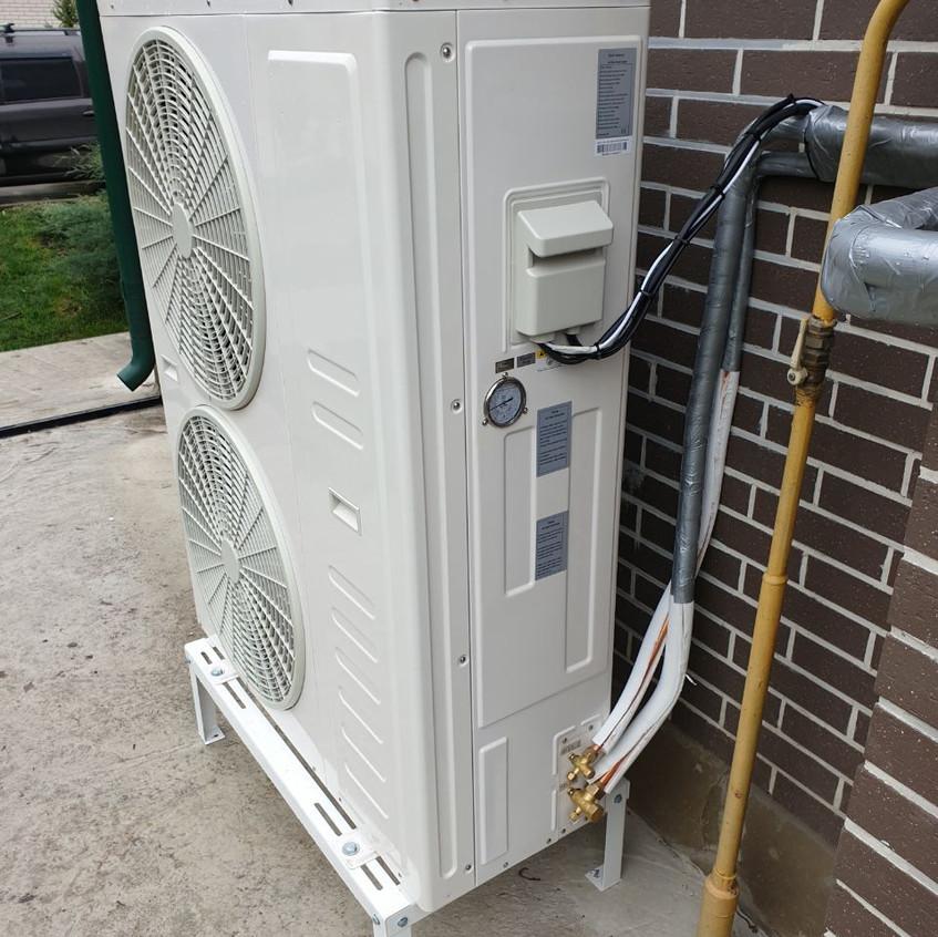 Тепловой насос DanHeat 18 квт вместо сжи