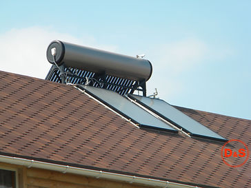 солнечный коллектор, плоский коллектор, тепло от солнца, энергия солнца