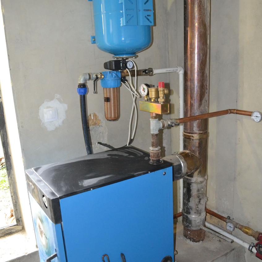 Севастополь тепловой насос отопление Dan