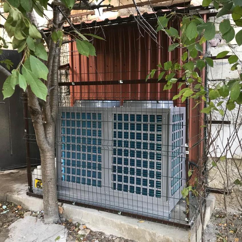 Тепловой насос от DanHeat на 36 кВт 1
