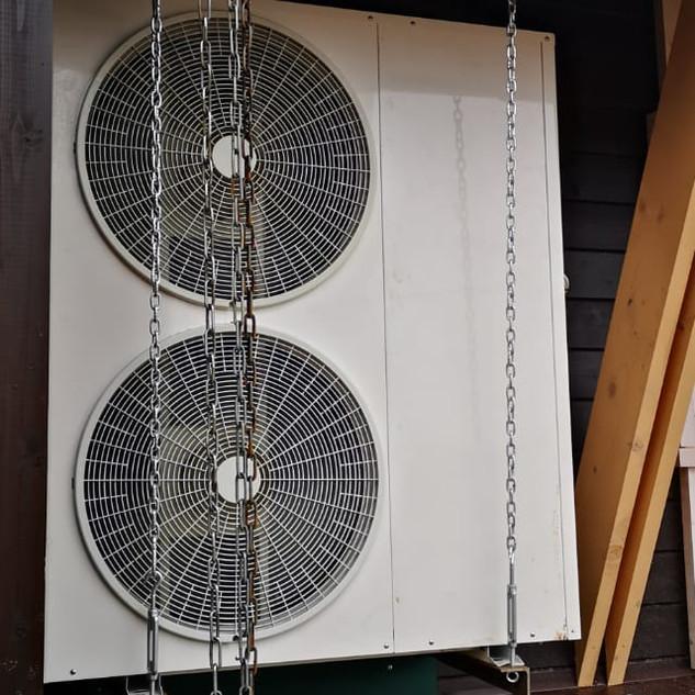 Тепловой насос от DanHeat на 18 кВт возд