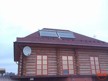 Солнечные коллектора для горячей воды дл
