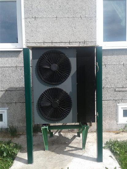Тепловой насос воздух-вода на 20 кВт DanHeat