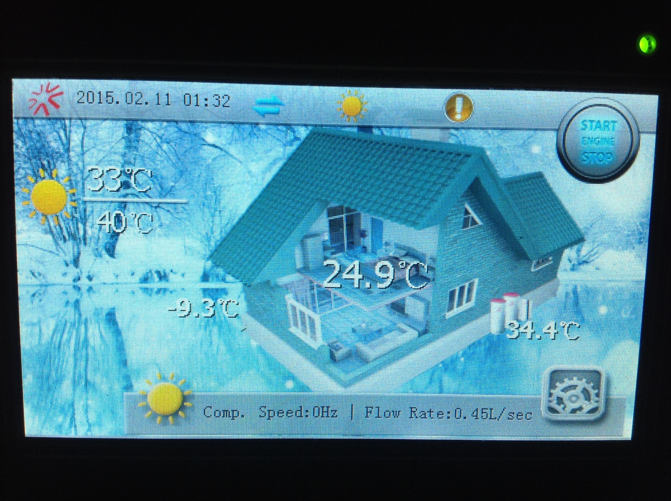 Монитор теплового насоса