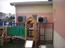 Тепловой насос в детском саду